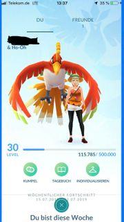 Pokemon Go Account Lv 30