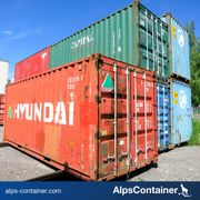 Gebrauchte 20ft Seecontaner Lagercontainer Container