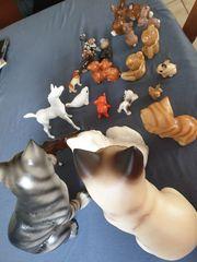 Goebel Sammlung Hund Bär Katze