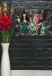 Katy Perry Exotischer Kunstdruck 40x30