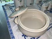 Antiker Koch- Topf mit Deckel