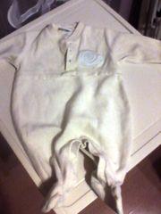 Strampler - Einteiler - Baby - Schlafanzug - Berti - gelb