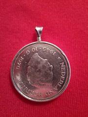 Silber 10 Gulden anhinger