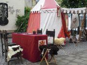 Ritterkampf Feuershow Hexentheater Stelzenläufer Kinderunterhaltung