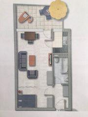 Möblierte 1 Zimmer Wohnung befristet