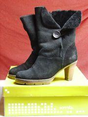 KMB klassische Winterschuhe Stiefeletten Stiefel