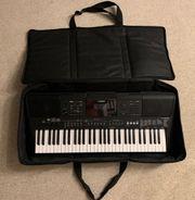 Keyboard Yamaha PSR-E463 - Batteriebetrieb möglich
