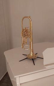 B-Trompete mit Drehventilen Neuwertiger TOP-Zustand