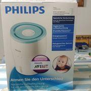 Luftbefeuchter Philips mit NanoCloud-Technologie