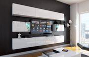 Wohnzimmer Wohnwand Anbauwand Schrankwand Wohnschrank