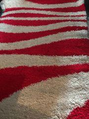 Teppich Rot Weiß 200x290