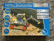 neu Metallbaukasten Baufahrzeuge 5 in