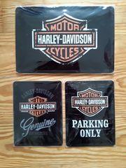 Blechschilder Harley Davidson