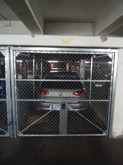 Abschließbare Garage Gitterbox zu vermieten