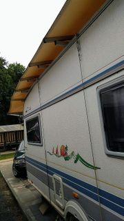 Wohnwagewn Schutzdach für Hobby 530