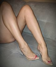 Nylon High Heels Fußfetisch Schuhfetisch