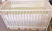 Babybett in weiß