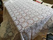Tischdecke Handarbeit