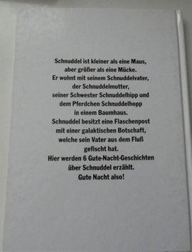 Kinder- und Jugendliteratur - Schnuddels Gute-Nacht-Geschichten Janosch 1995