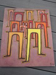 Kunstdruck Paul Klee - Revolution desViadukts