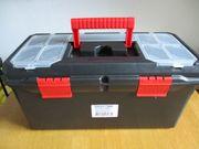 19 Werkzeugkoffer Werkzeugkasten Kunststoff leer