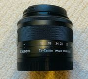 CANON EF-M 15-45mm f3 5-6