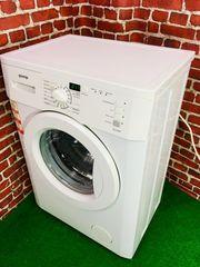 Eine schmale Waschmaschine von Gorenje