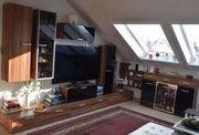 Variable sehr geräumige moderne Wohnwand