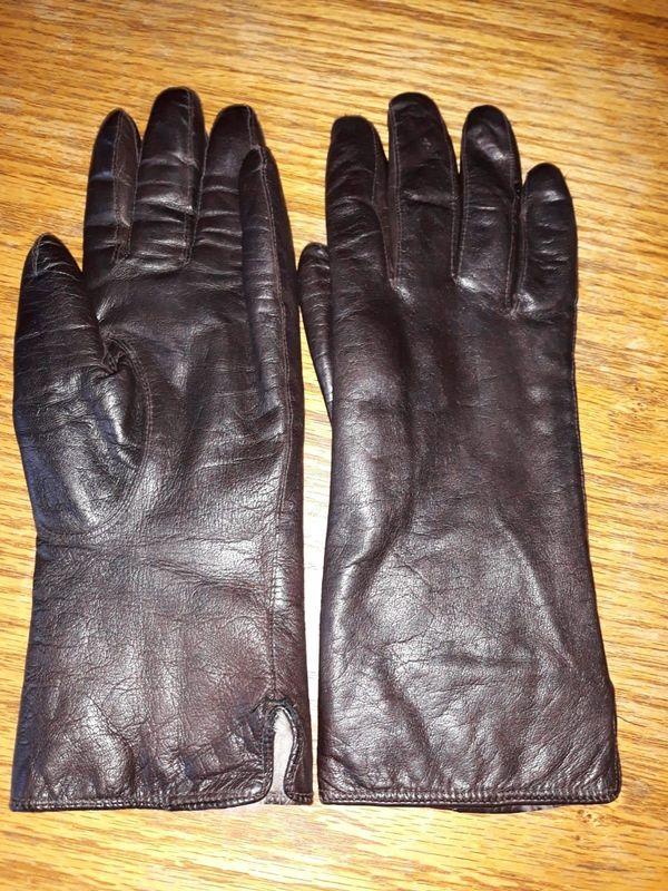 932a02b45c0ce7 Damen Winter-Leder-Handschuhe Fell Gr. 7 1/2 in Vilshofen - Taschen ...