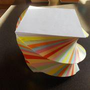 Notizblock Gedreht 11 Verschiedene Farben