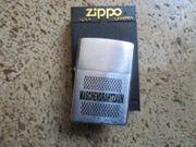 Orig Zippo Feuerzeug Neu Maschendrahtzaun