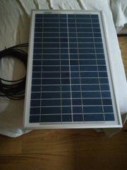 Solaranlage komplett Set neu 25W
