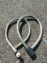 2x Original Trelock Fahrradschlösser Fahrradkette