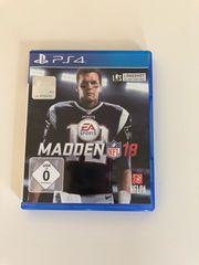 Madden 18 PlayStation 4