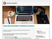 Web-Development Symfony m w d