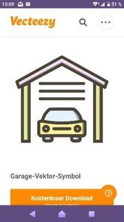 Große Garage oder kleine Halle
