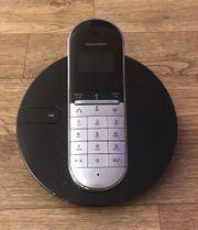 Grundig Telefon Schwarz Grau