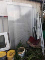 Plexiglasplatten für z B Gewächshaus