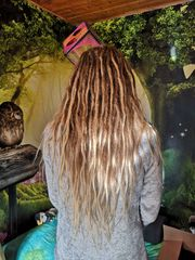Fairy Dreads Dreadlocks Erstellung Pflege