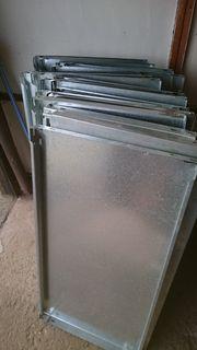 6 Metallregale 180x 100 x