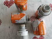 4 neue Heimeier Thermostate THERMOSTATKOPF