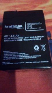 6 Volt Batterie Akku