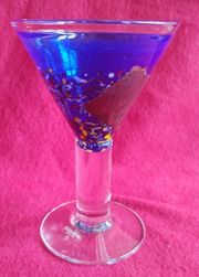 Kosta Boda Satellite Martini-Glas Kelch