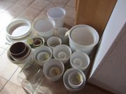 Keramikübertöpfe gebraucht