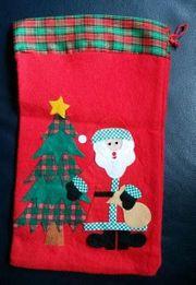 Weihnachten Nikolaus Sack Weihnachtssack Beutel