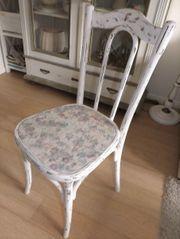 Romantischer antiker Stuhl Shabby Chic