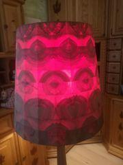 Stehlampe aus Holz 15cm hoch