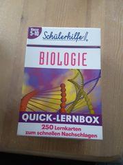 Schülerhilfe Quick Lehrnbox Biologie