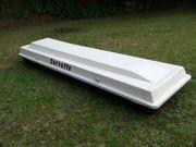 Dachgepäckbox robuste GFK-Bauweise korrosionsfest abschließbar