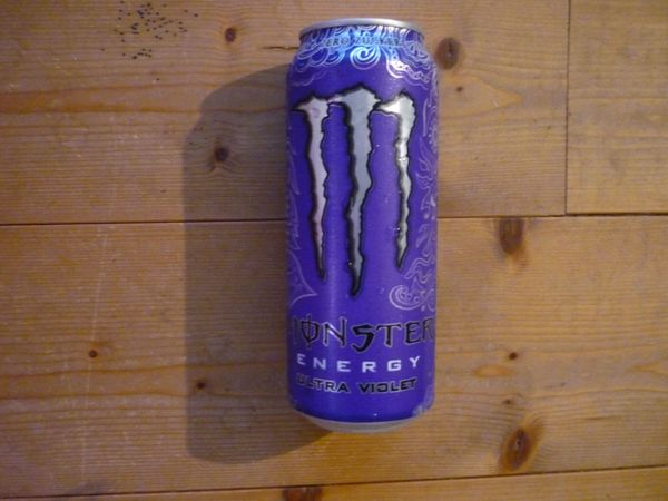 Monster Energy Drink Ultra Violet